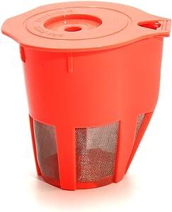 Replacement Orange Refillable Keurig Multi-beverage Filter Reusable Coffee Filter For keurig 2.0 and K500, K400, K300 and K200 Models