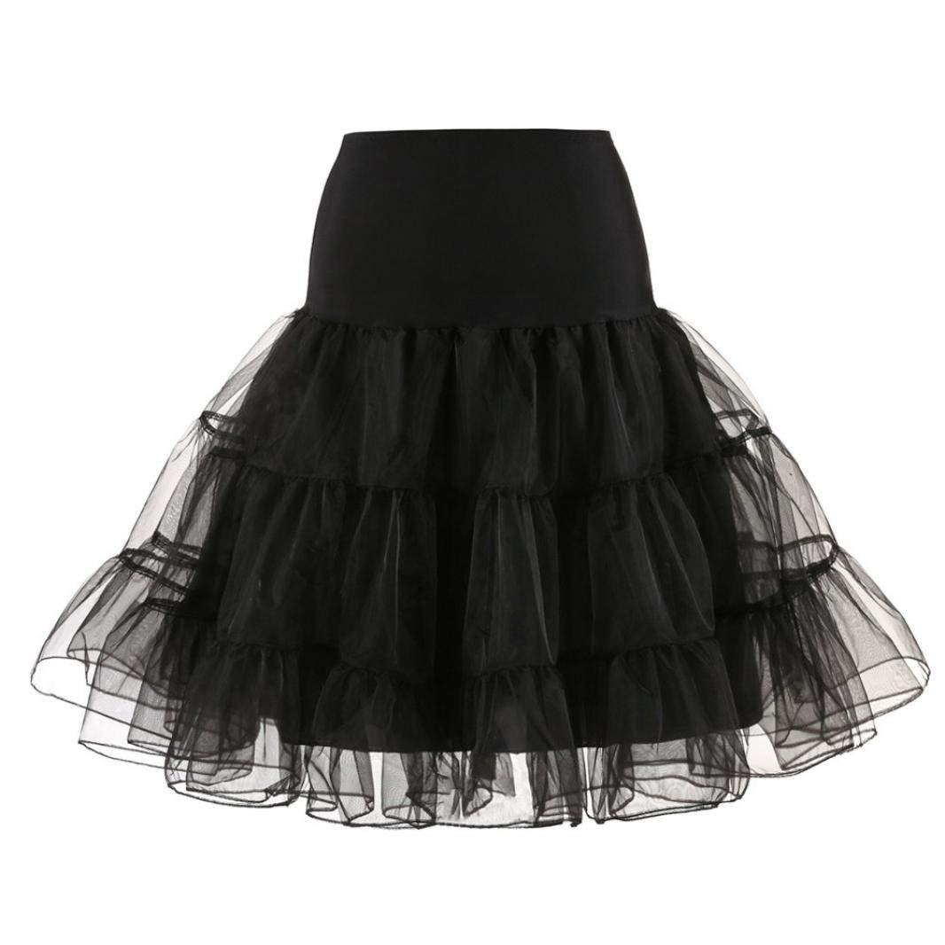 Faldas De Falda De para Tutú Mujer Esencial Vestido De Falda 50S ...