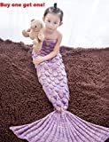 Best Children Gifts - BIGBANBAN Mermaid Tail Blanket with Scales All Seasons Review
