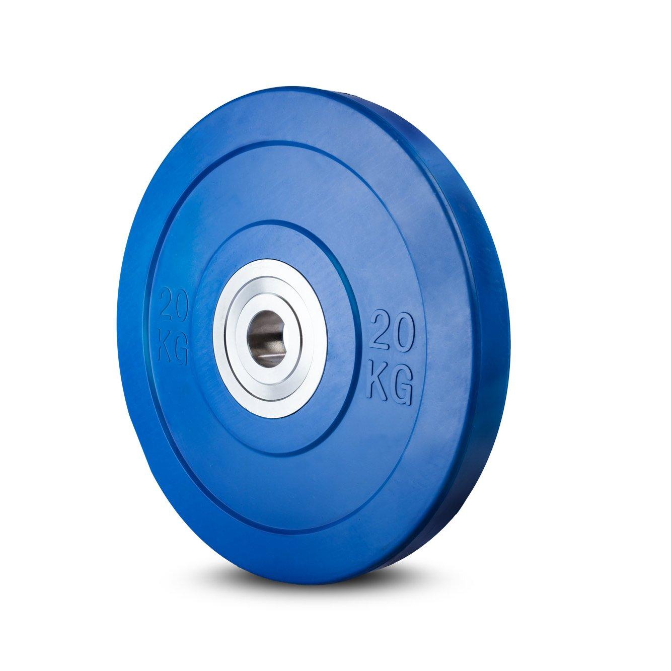 Lex Quinta Competition Bumper Plate 20kg - blau