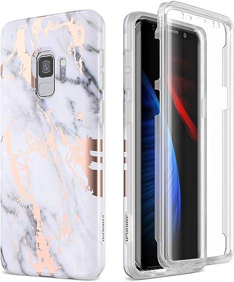 SURITCH Funda para Samsung Galaxy S9 Silicona 360 Grados Marmol ...