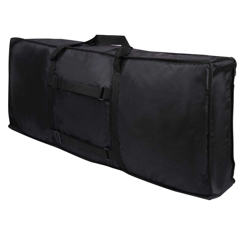CAHAYA Keyboard Tasche Keyboard Gig Tasche für die Meisten 61 Tasten Elektronische Tastatur & Digital Pianos CY0093