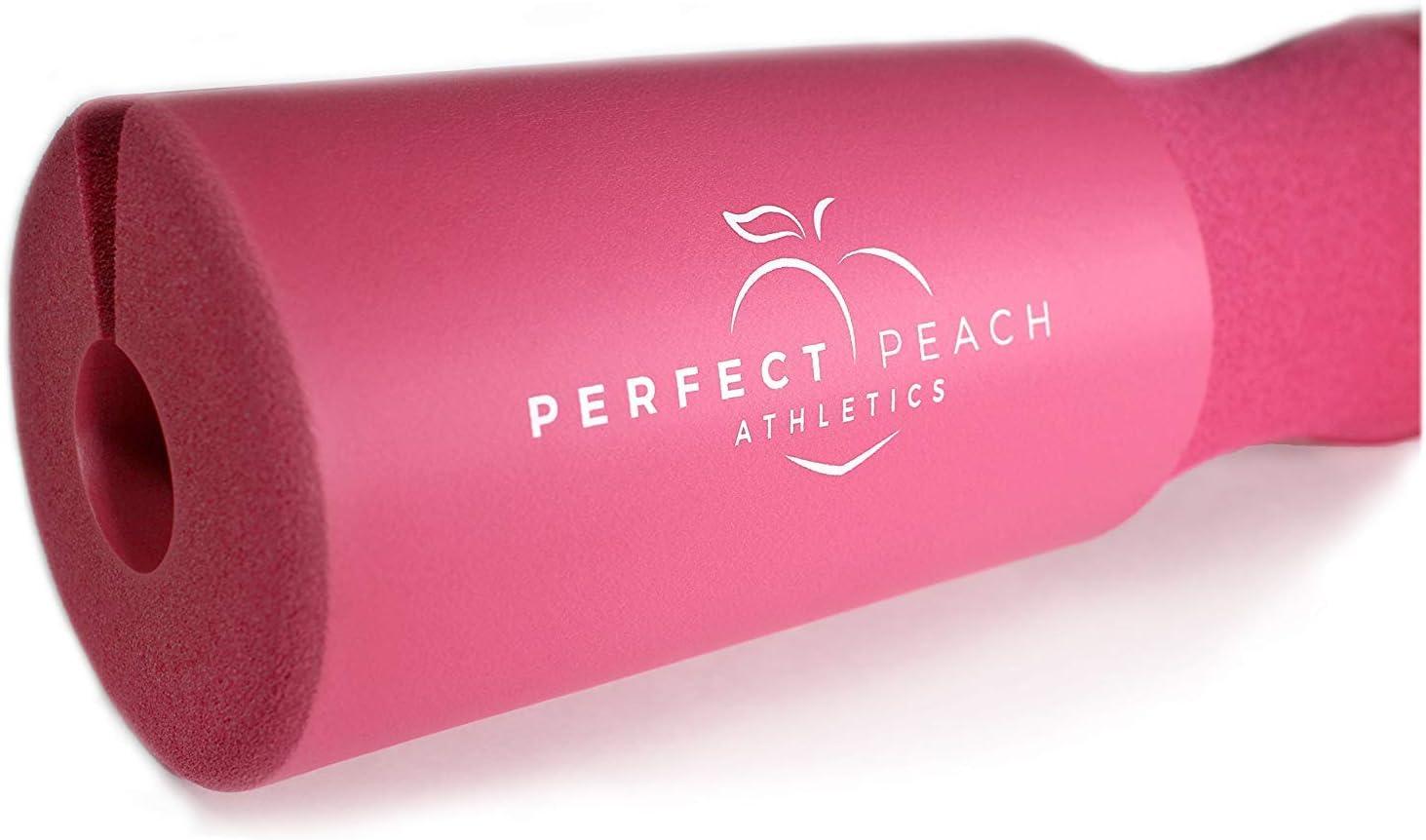 Perfect Peach Athletics Squat Pad Barbell Pad - Hip Thruster Foam Squat Bar Neck Pad for Women Weight Lifting Equipment