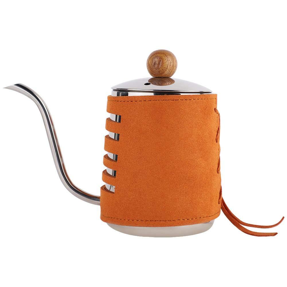 Antilog Drip Coffee Pot, 500ml Stainless Steel Long Fine Spout Kettle Drip Handleless Coffee Tea Pot by Antilog