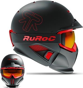 Ruroc RG1 de DX Esquí/Snowboard Casco: Amazon.es: Deportes y aire ...