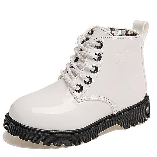 factory authentic 0c887 10fb0 Paragon Bambino Ragazzi Stivali da Pioggia Ragazza Stivaletti da Neve  Scarpe Invernali Impermeabile Martin Boots