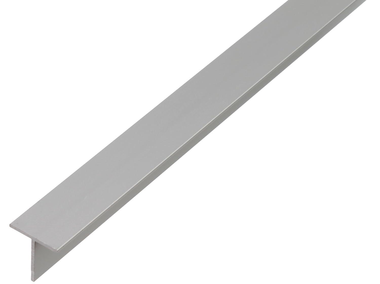 GAH-Alberts 473112 T-Profil - Aluminium, silberfarbig eloxiert, 1000 x 15 x 15 mm