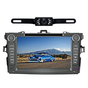 Car Stereo for Toyota Corolla (Support Year 2007 2008 2009 2010) 8 inch Indash