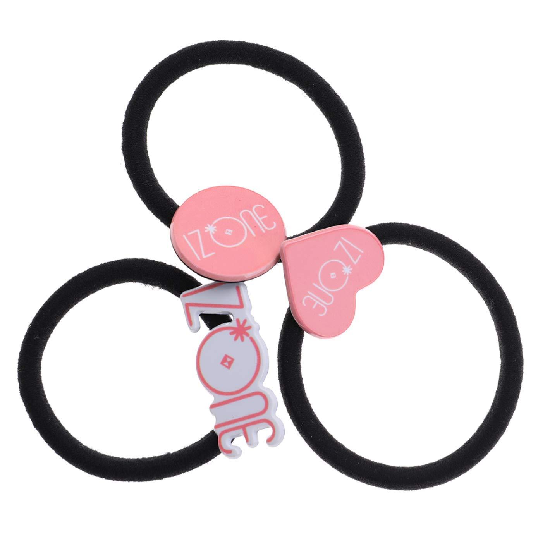 3PCS//SET Kpop BTS BLACKPINK Logo Hair Ropes Hair Ring Girls Hair Accessories New