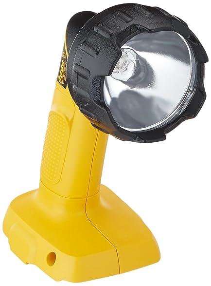 dewalt flashlight 18v. dewalt dw908 18-volt nicd pivoting head cordless flashlight dewalt 18v 8