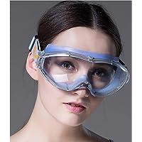 HengYan Gafas de Seguridad, Gafas de Gran Angular, prevención de Saliva, Arena, Gafas de Alta Calidad.