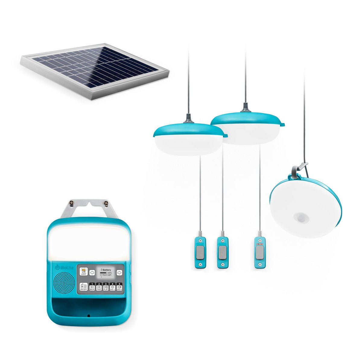 BioLite SolarHome 620 Portable Off-Grid Solar Lighting System