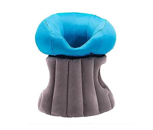 Almohada hinchable de viaje portátil cabeza cuello resto ...