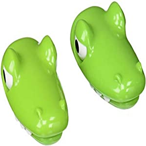 MSC International Joie Croc Bag Clips, Set of 2, Green