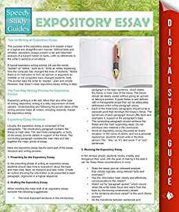 Expository essay guide
