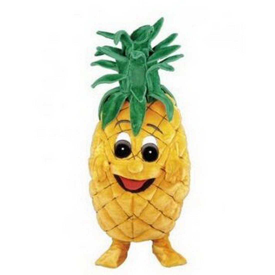 Pineapple Mascot Costume Cartoon Character Adult Sz Real Picture