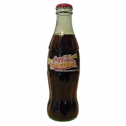 Coca Cola Fridge >> Amazon Com Coca Cola Fridge Pack 2002 Coca Cola Bottle