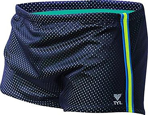 TYR Men's Poly Mesh Trainer (36, - Mens Drag Suits