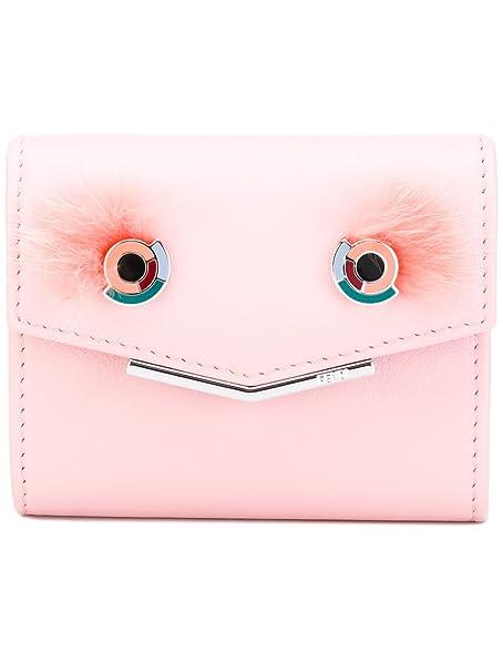 Fendi - Cartera para mujer Mujer Rosa Tamaño de la marca- Talla única: Amazon.es: Ropa y accesorios