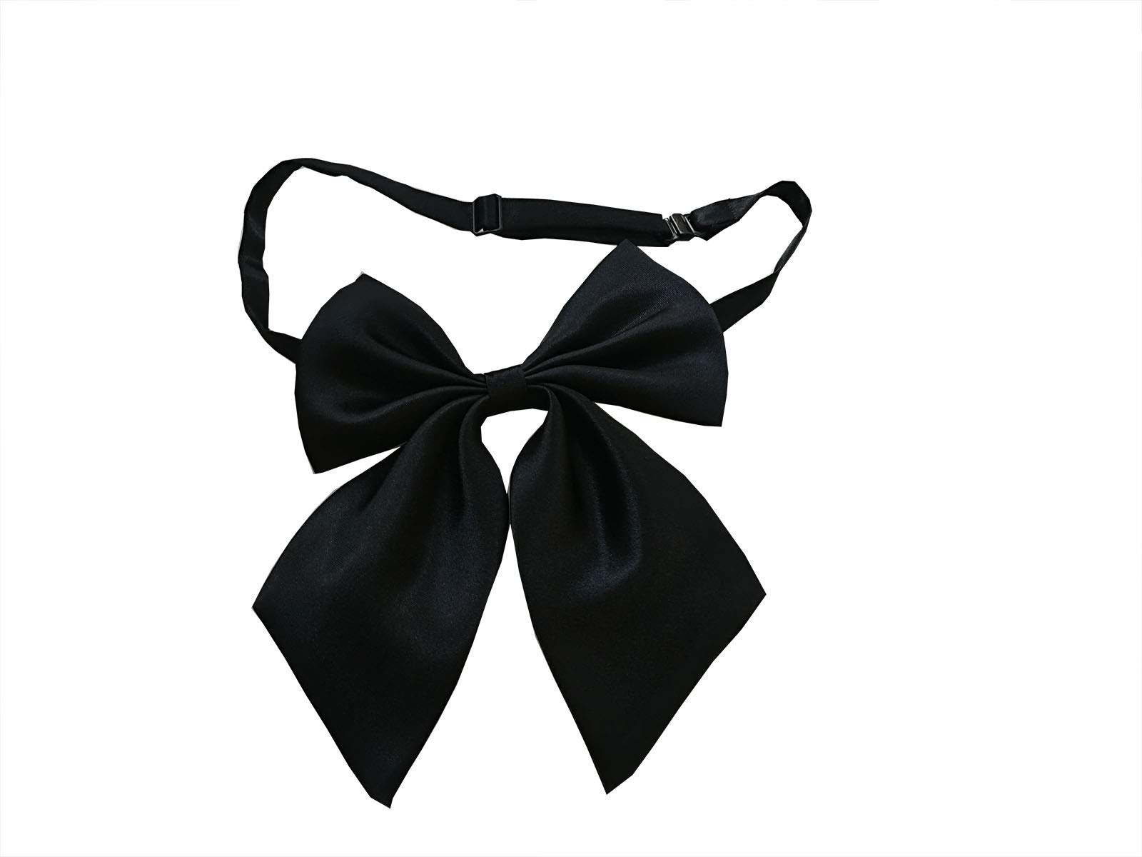 Student bowknot adjustable neck bow ties for women