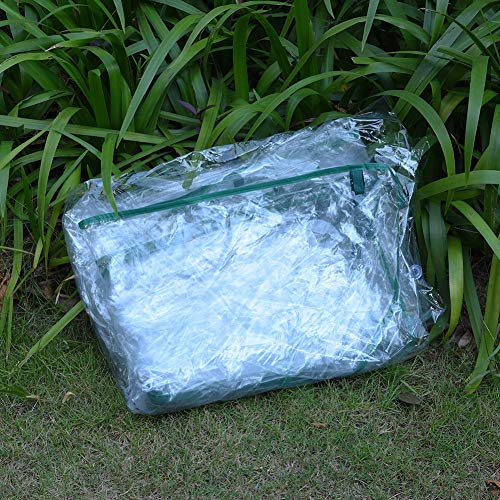 PVC Plant Greenhouse Cover - Herb and Flower Garden Green House Replacement Accessories (Just Cover, Without Iron Stand, Flowerpot) by eronde (Image #5)