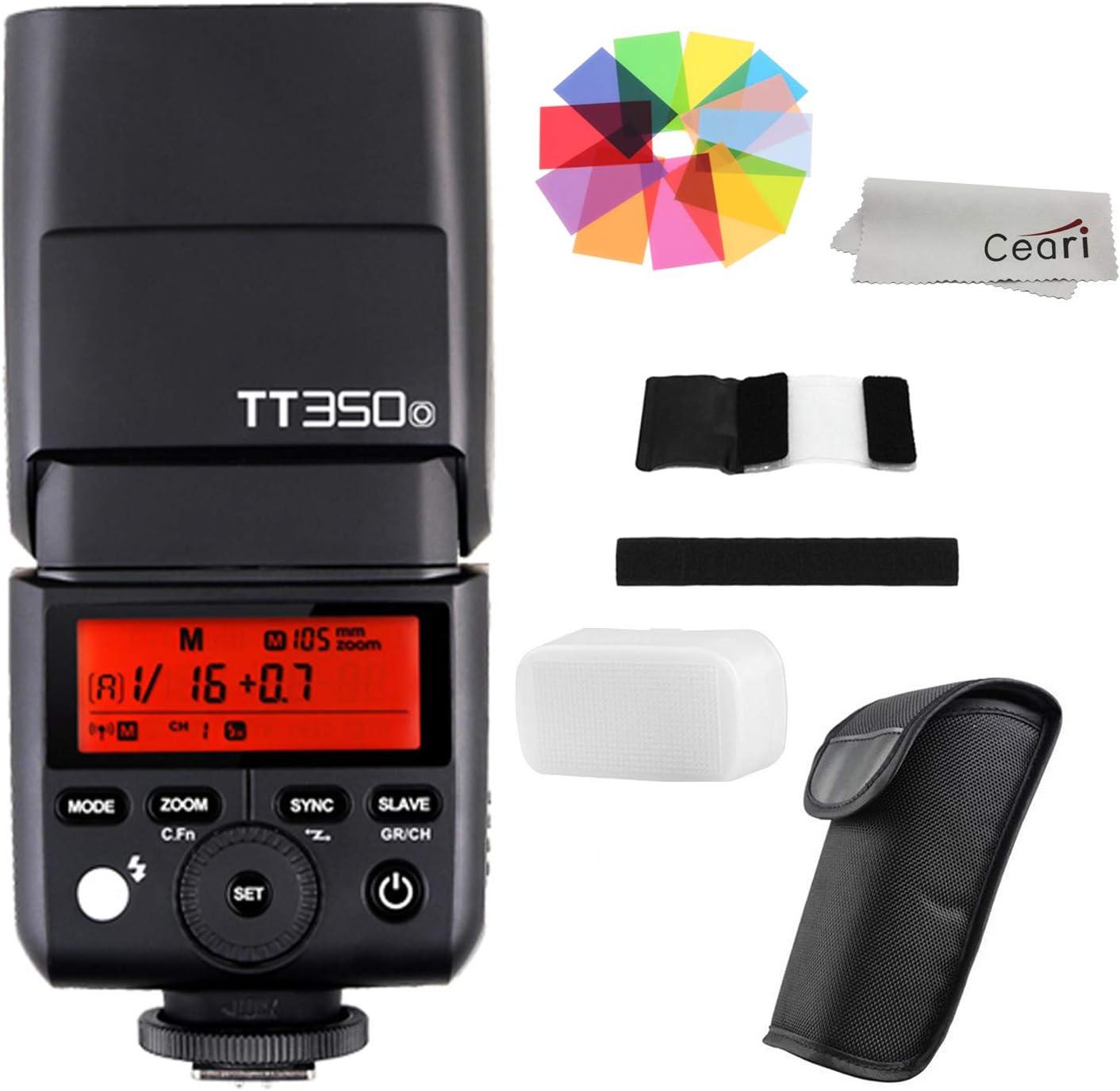 Godox TT350o 2.4G Wireless TTL Flash Speedlite GN36 1/8000s HSS for Olympus E-P5 E-PL5 E-PL6 E-PL7 E-PL8 Pen-F DSLR Camera
