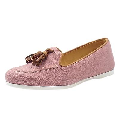 Pippa - Chaussure bateau femme, marron (Tan/Pink), 36Chatham Marine