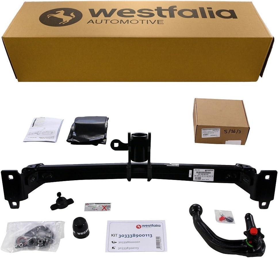 Westfalia Abnehmbare Anhängerkupplung Ahk Für Bmw 5er Limousine F10 5er Touring F11 Im Set Mit 13 Poligem Fahrzeugspezifischem Westfalia Elektrosatz Auto