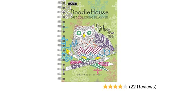Amazon.com : Lang Doodle House 2017 Coloring Enement ... on planner sheets, planner backgrounds, planner art, planner ideas, planner brands, planner love, planner templates, planner fun, planner paper, planner stamps, planner icons, planner quotes,