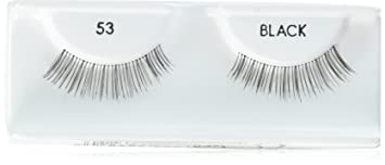 41b7d0a4da8 Image Unavailable. Image not available for. Color: Andrea Eyelash Strip  Lashes Black [53] 1 ea