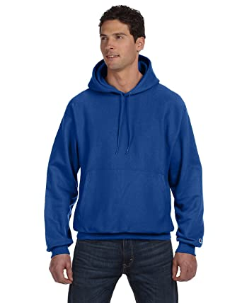 Champion S101 - Reverse Weave Hooded Sweatshirt at Amazon Men's ...