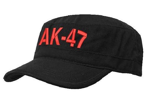 Unisex SOVIET Army Russian Red Star AK 47 Hat Cap Fancy DressTrapper Cadet  Military Baseball Cap 9483520fc29c