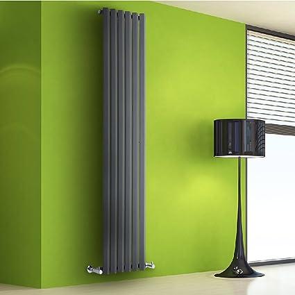 Hudson Reed TDRAVP2 - Radiador Vertical Diseño Plano Para Calefacción Central de Agua - Acero -