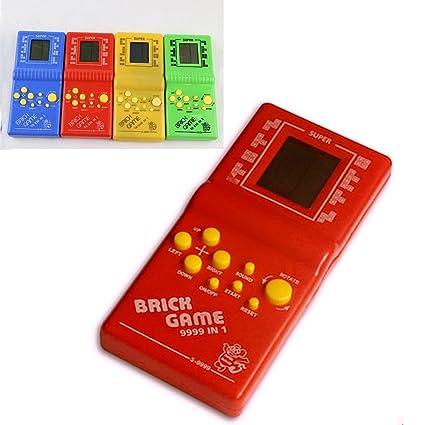 Tetris Brick Game Handheld Game Console Retro Video Gaming Player Machine Kids Color Random
