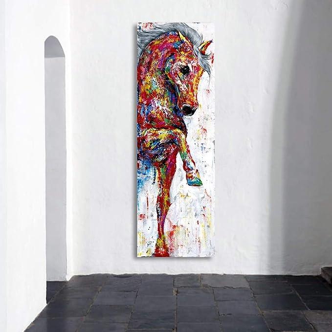 HYLBH Pintura Mural Arte De La Pared Pintura De La Lona Cuadro del ...