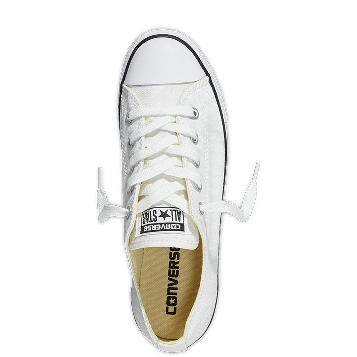 Converse Women's Ct As Dainty Ox Slip on Trainers, White