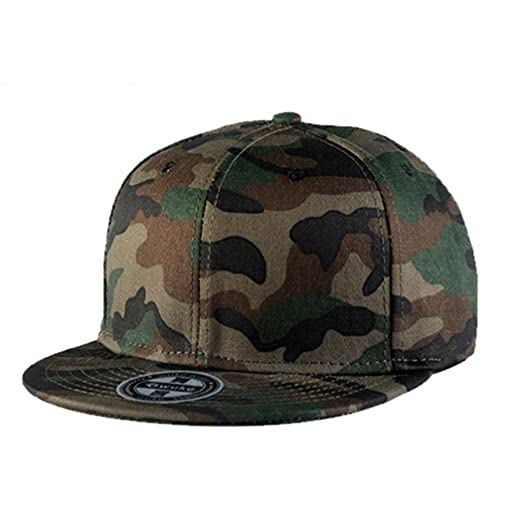 Raylans Mens Camo Snapback Cap Flat Visor Baseball Cap 1  at Amazon ... 21539958797