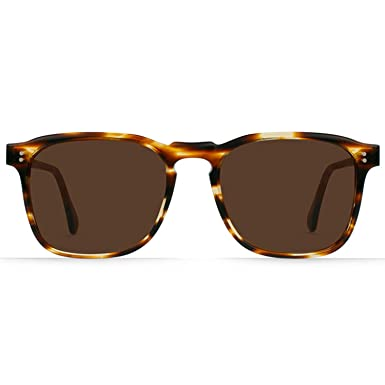d539a619635 Amazon.com  RAEN Optics Unisex Wiley Made in France Collection Brown Arbois  One Size  Clothing
