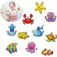 Felly Pegatinas Antideslizantes para bañera, 10 Criatura submarina