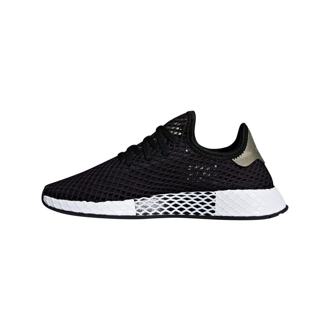 Noir (Core noir Core noir Tech argent Met.) adidas Deerupt W, Chaussures de Gymnastique Femme 39 1 3 EU