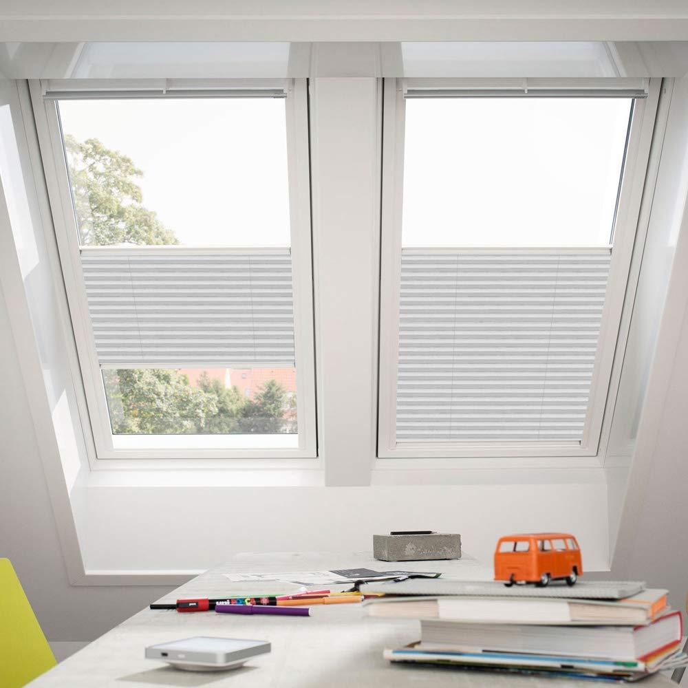 Orignal VELUX Plissee   Faltstore FHL MK10 1256S   Bedienart   Manuell   Farbe   Dekor Klassik Weiß   Fenstergröße   MK10   Fenstertypen   GGU, GGL, GPU, GPL, GTU, GTL, GXU, GXL _16610