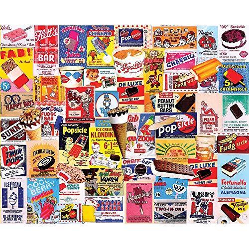 Johnson Smith Co. - WHITE MOUNTAIN Ice Cream Bars 1000 Piece Puzzle 30