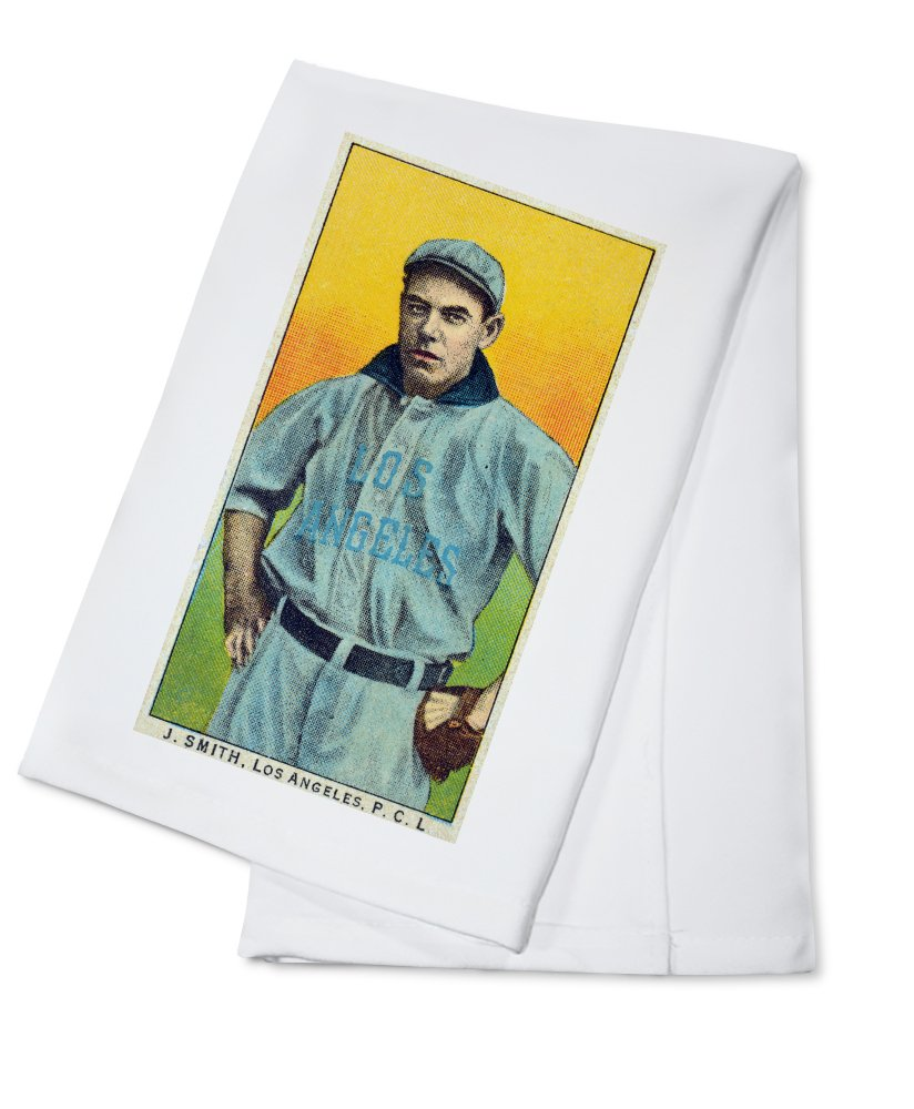 Los Angeles Pacific Coast League – J。スミス – 野球カード Cotton Towel LANT-23393-TL Cotton Towel  B0184BIWK6