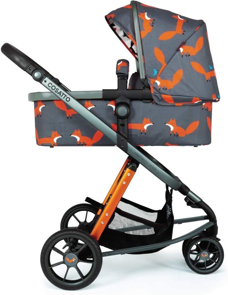 Cosatto Giggle 3 Pram /& Pushchair Charcoal Mister Fox