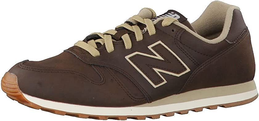 new balance 373 uomo marrone
