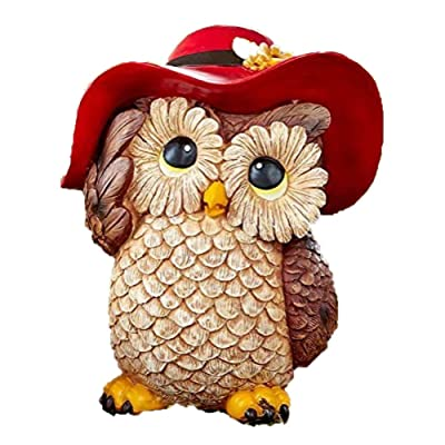HOME STAR INNOVATIONS Dress-Up Garden Animals (Owl) : Garden & Outdoor