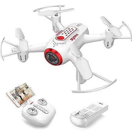 b71faaba12e SYMA X22W Drone with Camera Live Video FPV Nano Pocket Mini Drone for Kids  and Beginners