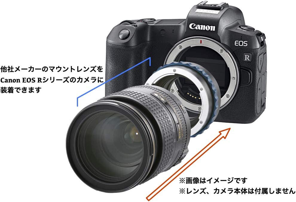 Novoflex Objektiv-Adapter f/ür Leica-R-Objektiv an Canon-EOS-R-Kamera