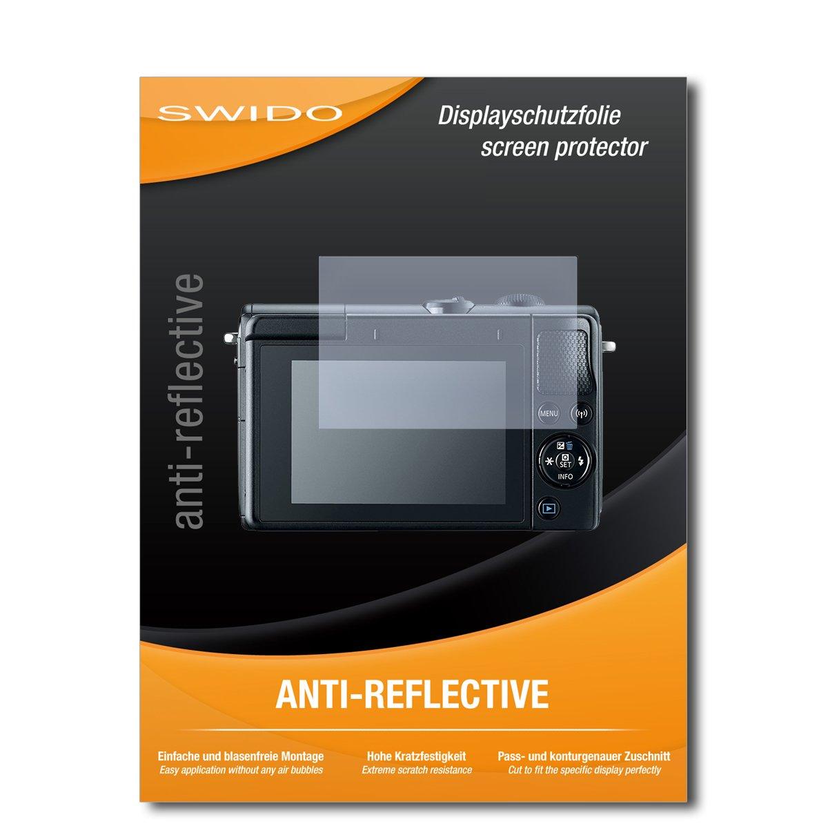 SWIDO 4 x Pellicola Protettiva Canon EOS M100 Screen Protector Pellicola Protettiva Film AntiReflex antiriflesso Screen Protector Specialist