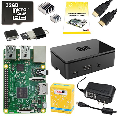 CanaKit Raspberry Pi 3 Complete Starter Kit - 32 GB Edition (Raspberry Pi 2 Model B compare prices)